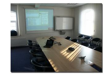 projekční místnost